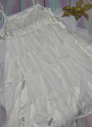 Нарядное платье монсун на 11-12 лет