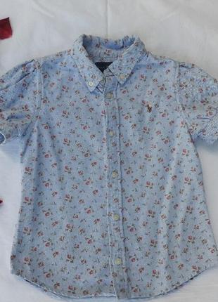 Оригинальная блузка ralph lauren на 5 лет