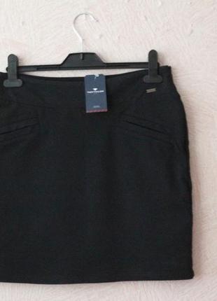 Tom tailor- юбка классическая- плотный , плотный трикотаж