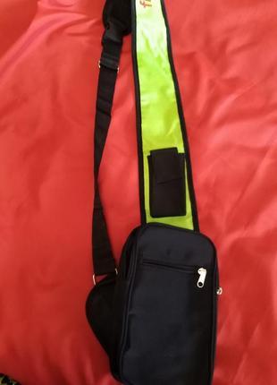 Новая мужская сумка через плечо