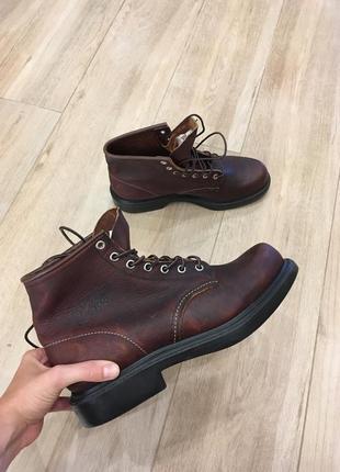 Ботинки з натуральної шкіри від rad wing shoes!!! made in usa!!!
