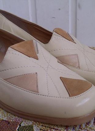 Туфли мокасины comfitts wide fitting