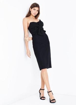Элегантное платье бандо от new look7 фото