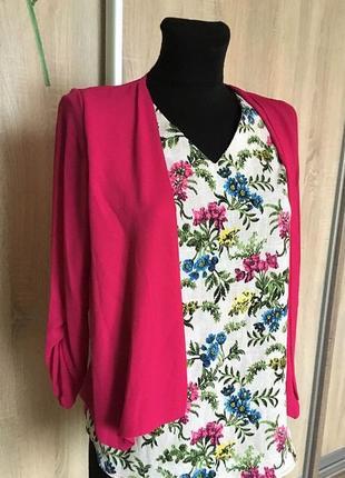 Очаровательная новая блузка р-р 42 m-l