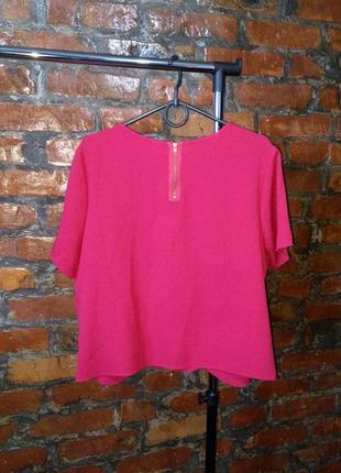 Блуза топ кофточка прямого кроя большого размера с фигурным низом george