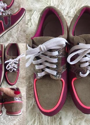 Шикарные лоферы/ кроссовки из натуральной кожи