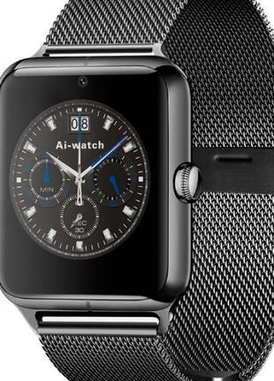 Умные часы smart z60 (gt08 pro) black!