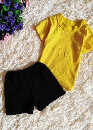 ♠️ спортивная форма для садика - футболка и шорты ♠️