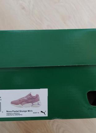 Новые кроссовки puma, размер 417 фото
