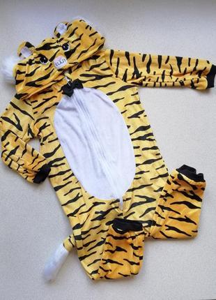 Комбинезон h&m человечек тигр