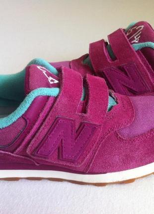 Мега стильные кроссовки new balance 574 👟 размер 34-35 оригинал 🔥🔥🔥 ❗❗❗
