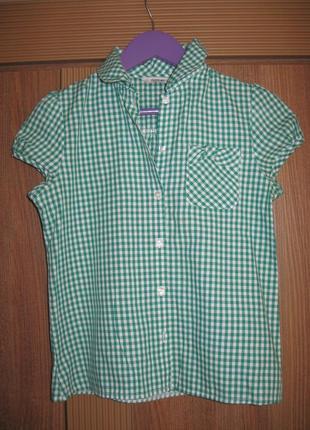 Школьная блузка от george на девочку, оригинал, 9-10 лет, рост 135-140см