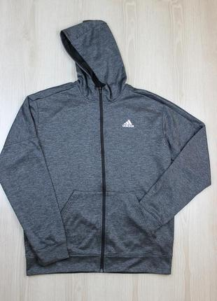 Худи для тренеровок adidas team issue full zip fleece climawarm