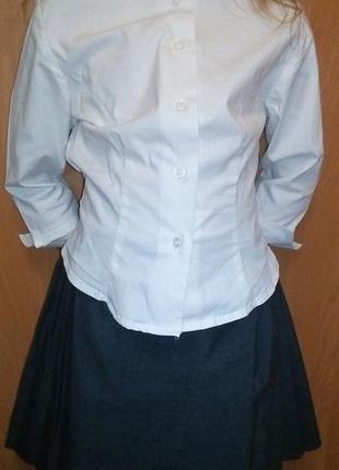 Комплект рубашка с юпкой школьные