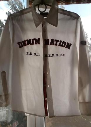 Рубаха хлопок для школьника 11 лет