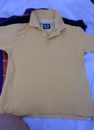 Хлопковая футболка поло