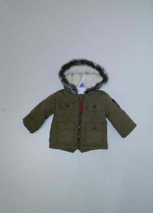 Куртка деми nutmeng для мальчика р. 62-68 на 3-6 мес