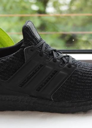 Фірма - кроссовки adidas ultraboost 4.0 'triple black'