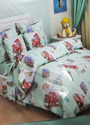 Детское полуторное постельное белье украина 100% хлопок