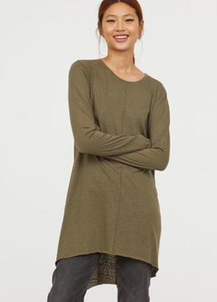 Пуловер джемпер свитер свободного кроя из меланжа atmosphere