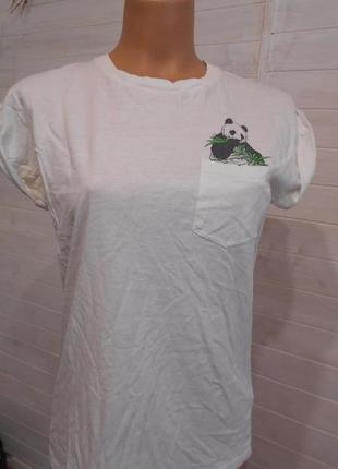 Милая футболка с пандой  s\m