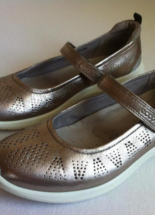 Мега комфортные туфли , балетки ecco soft 5 mary jane 👠 размер 40 оригинал ❗❗❗