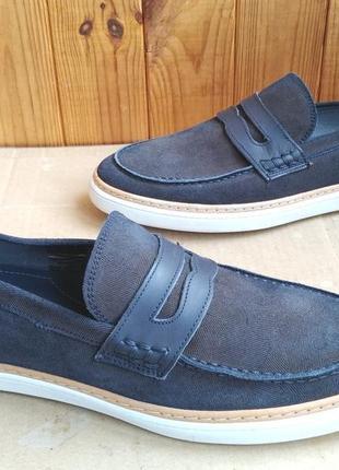 Полностью кожаные мокасины итальянские туфли слипоны rowland brothers