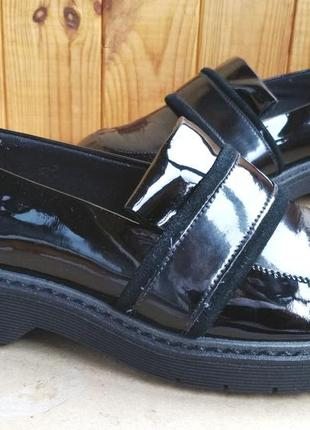 Стильные кожаные удобные туфли новые криперы clarks