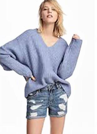 Оригинальные джинсовые шорты от бренда h&m разм. 46