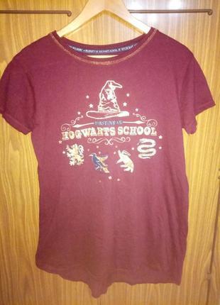 Фирменная футболка harry potter брендовая футболка гарри поттер