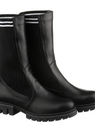 Ботинки осень натуральная кожа женские