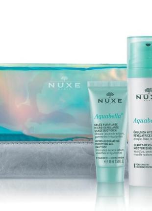 Nuxe aquabella набор для комбинированной кожи лица