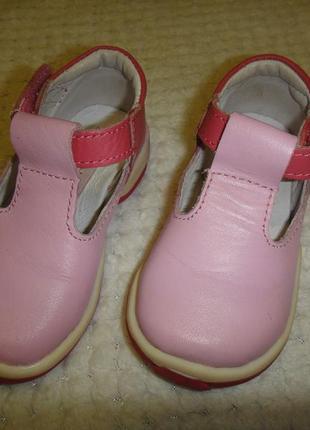 Кожаные туфли балетки impidimpi