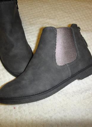 Новые ботинки ботильоны walkx кожзам германия