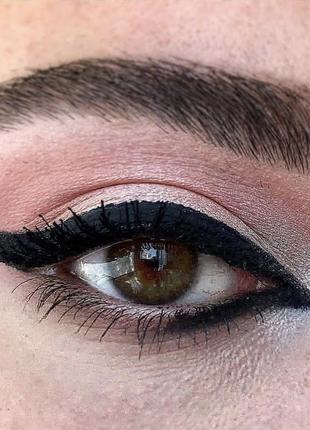 Влагостойкий карандаш для глаз cardin smokey black/ черный4 фото