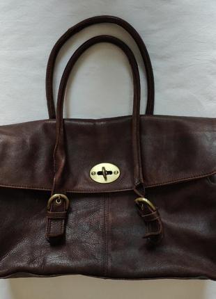Большая сумка rowallan / 5 отделов