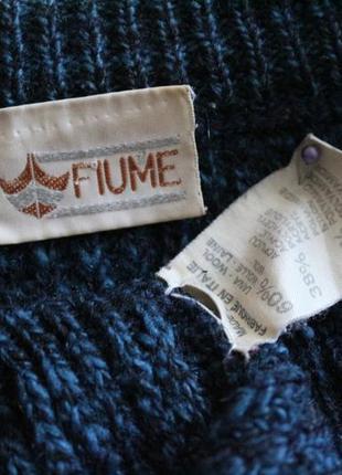 Fiume- свитер, джемпер,свитшот- шерсть- ласковый и супер комфортный, наш 58-644 фото