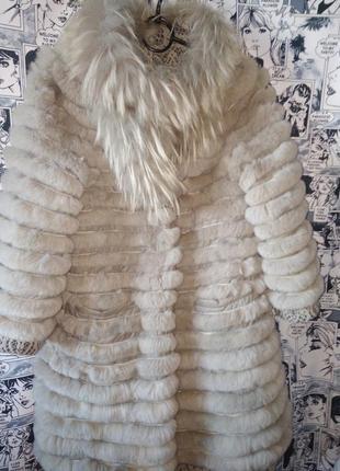 Обалденная  шуба- пальто