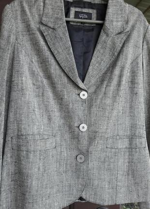 Серый пиджачок