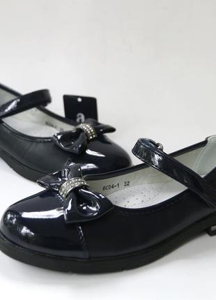 Школьные туфли для девочки, код 712
