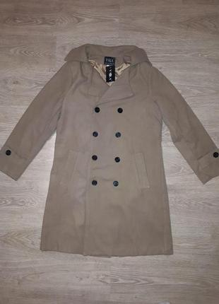 Стильное мужское осеннее пальто