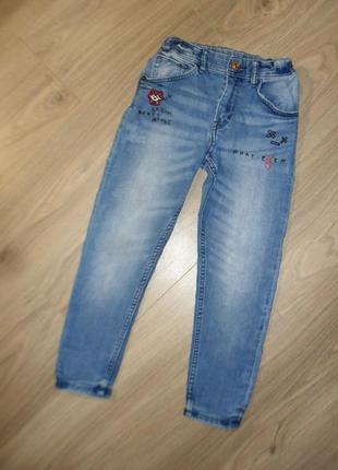 Стильные джинсы на 6-7лет