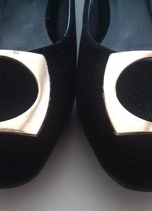 Туфли балетки plato