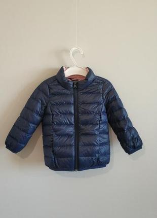 Детская пуховая курточка