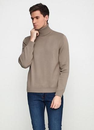 Гольф (свитер с горловиной) мужской из итальянской шерсти