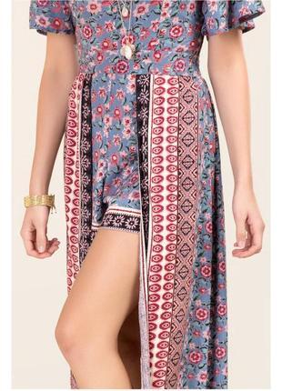 Sale! длинное платье-ромпер francesca's3 фото