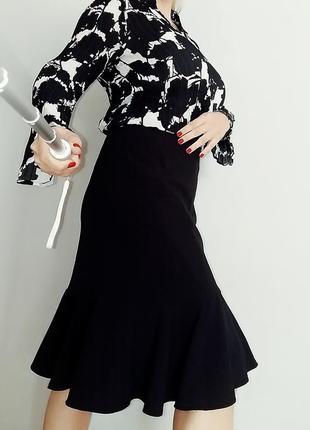 Юбка миди с воланами kaleidoscope , юбка годе 14-16