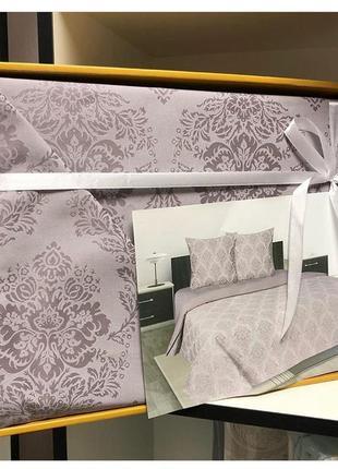 Комплект постельного белья сатин люкс евро размер 100% хлопок