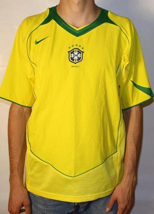 Футболка джерси nike brazil ss cbf футбольная новая оригинал