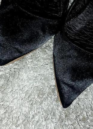 Крутые остроносые атласные балетки biancame 40-41 размер10 фото